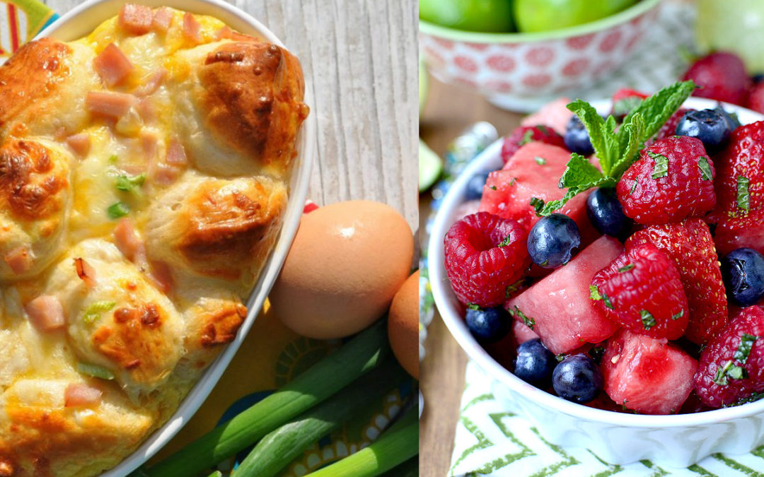 Safety Recipe of the Week:  Savory Breakfast Monkey Bread & Mojito-Inspired Fruit Salad
