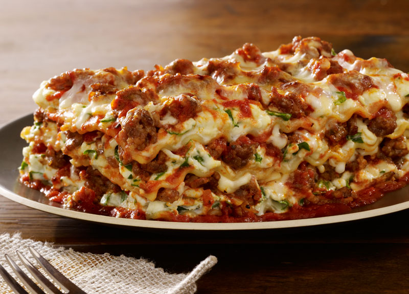 Safety Recipe of the Week: Carmela's Lasagna with Basil Leaves