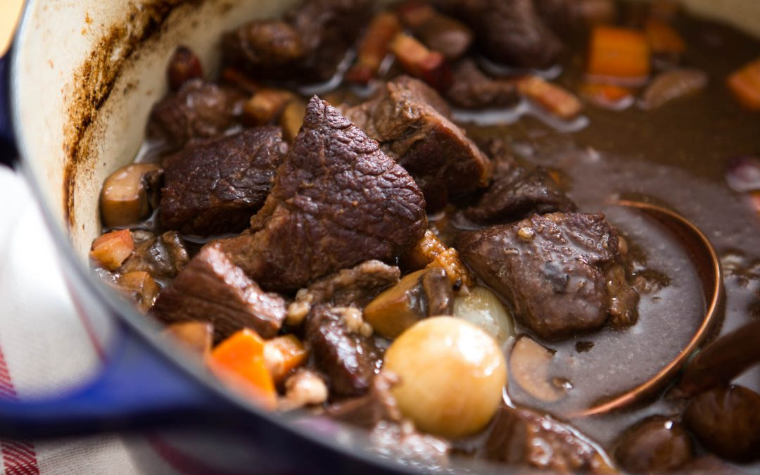 Safety Recipe of the Week: Julia's Boeuf Bourguignon