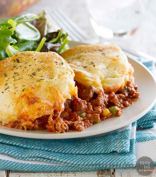 Safety Recipe of the Week: Beefy Biscuit Bake