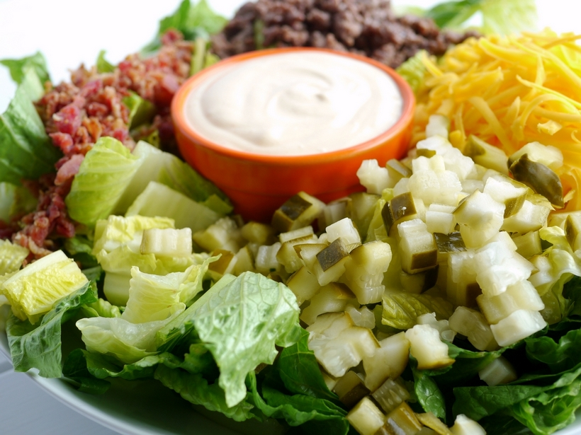 Safety Recipe of the Week: Bacon Cheeseburger Salad