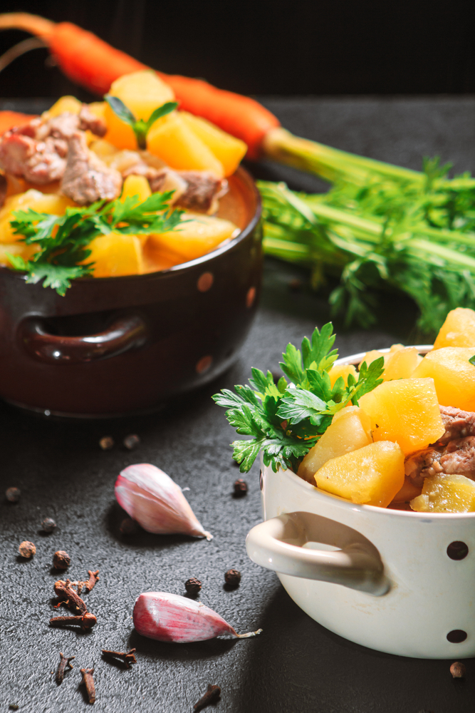ON THE ROAD HEALTH – Beef Stew – fall + winter = comfort food!